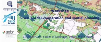 Workshop: Cross-border cooperation and spatial planning
