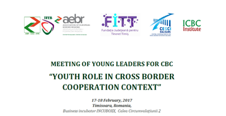 "Meeting of young leaders for CBC ""YOUTH ROLE IN CROSS-BORDER COOPERATION CONTEXT"""